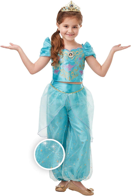 Rubies Princesa Disney Jasmine Aladdin Disfraz chica