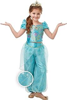 RUC7O|#Rubie's Jasmine Glitter/Sparkle Dlx Inf Costume Bambina