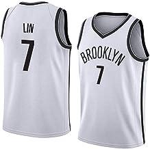 hsy Jeremy Shu-Cómo Lin # 7 Brooklyn Nets-clásico sin Mangas del Chaleco de Baloncesto Transpirable Problemas Camiseta Menswear (XS - XXL)