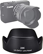 JJC LH-EW53 Dedicated Bayonet Lens Hood for Canon EF-M 15-45mm f/3.5-6.3 is STM Lens, Canon 15-45mm is STM Lens Hood Shade, Replacement of Canon EW-53 Lens Hood