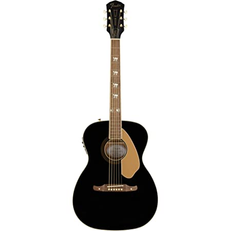 Fender Tim Armstrong 10th Anniversary Hellcat Acoustic Guitar, Walnut Fingerboard, Black