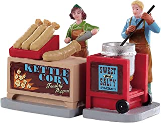 Lemax Kettle Corn Stand, Set of 2