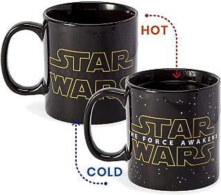 Star Wars Force Awakens Logo Heat Change 20oz Ceramic Coffee Mug