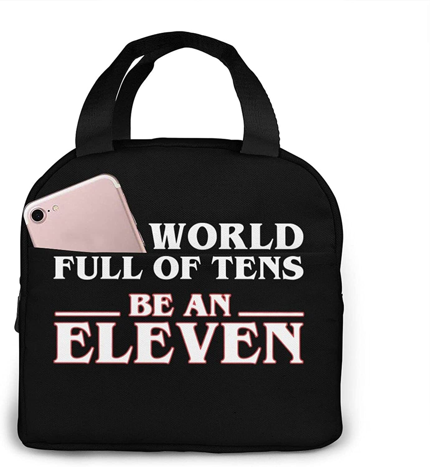 In A World Of Tens Be Animer and price revision Eleven Insulated Wo Lunch Bag Portable For Ranking TOP8