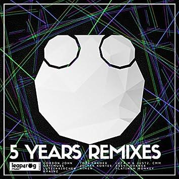 """5 Years"" Remixes"