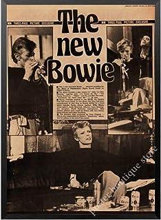 Poster David Bowie Britse Rock Singer Poster Retro Vintage Posters En Prints Schilderen Kunst Muur Foto 'S Voor Woonkamer ...