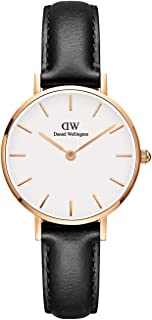 Daniel Wellington Classic Petite Sheffield - Rose Gold 28Mm (Dw00100230), Black Band, Analog Display