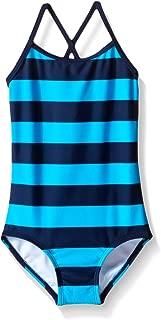 Girls' Layla Beach Sport Banded 1 Piece Swimsuit