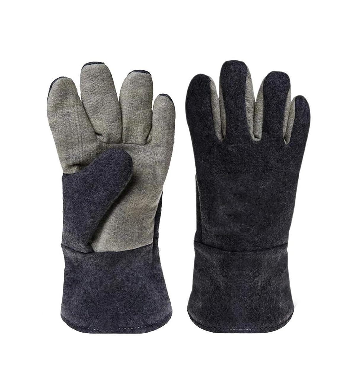 写真撮影クモ落花生300度断熱手袋、高温耐性手袋、断熱手袋、耐熱手袋