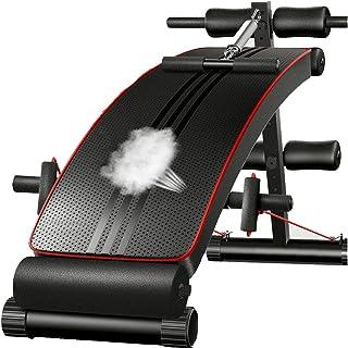 comprar comparacion Wind Greeting Banco Musculación Abdominales,Banco Ajustables,Plegable para Entrenamiento Abdominal,Banco Plegable Fitness ...