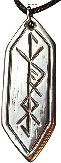 Spiritual Warrior Rune - Pewter Pendant - Norse, Celtic, Jewelry