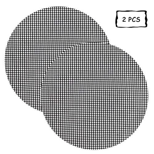 Preisvergleich Produktbild ZZAZXB Gitter Grillmatte / Grillkamine / Gestelle,  Backmatte Eckig,  Dauer-Backmatten,  Antihaftbeschichtung, Round, 40cm