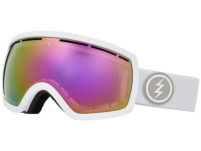 EG2.5 (Matte White Brose/Pink Chrome) Snow Goggles