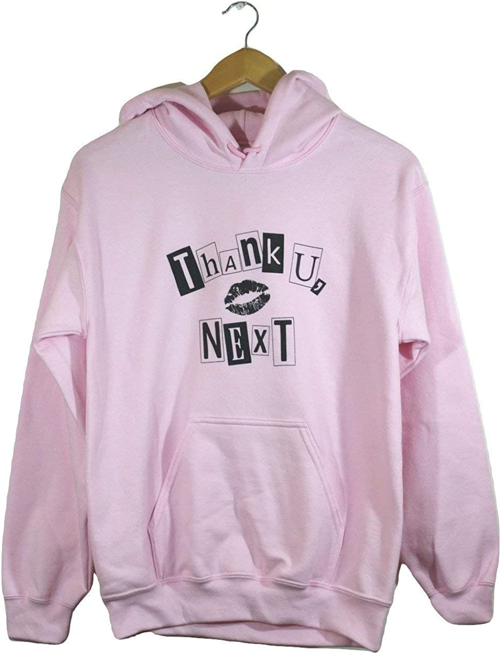 Thank Dedication U Next Animer and price revision Graphic Hoodie Pink Light