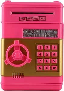 CUHAWUDBA Electronic Piggy Bank Safe Money Box Tirelire for Children Digital Coins Cash Saving