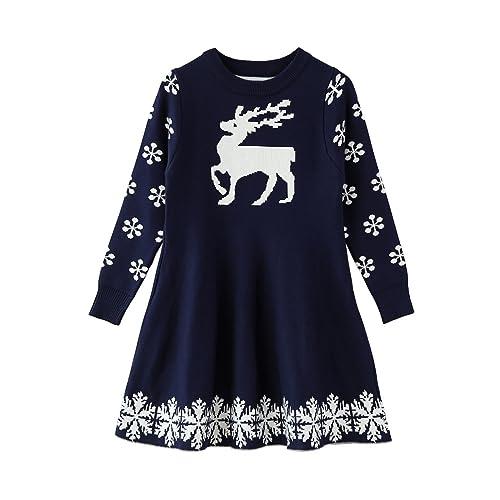GIRLS GORGEOUS WINTER FASHION DRESS MUSTARD 3 TO 8 YEARS CHRISTMAS LONG SLEEVES