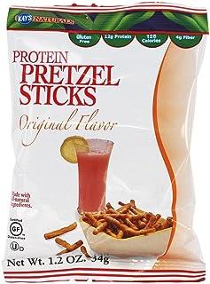 Sponsored Ad - Kay's Naturals Protein Pretzel Sticks, Original, Gluten-Free, Low Fat, Diabetes Friendly, All Natural Flavo...