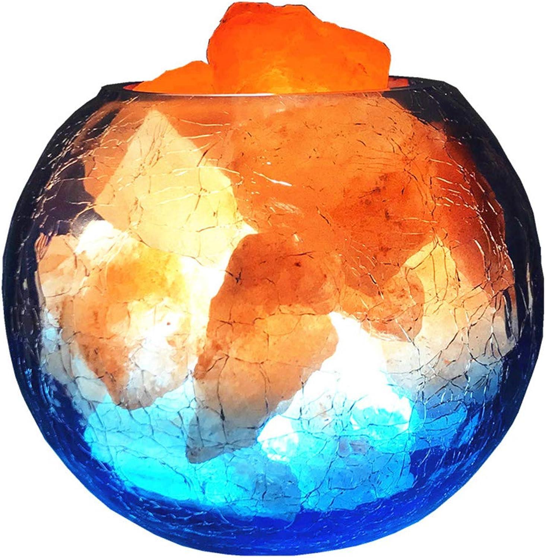 Salz Lampe Salz Lampe Kristall Lampe himalayan salt lamps Himalaya-Salzlampe 100% Premium 2KG CRYSTAL ROCK-SALZLAMPE MIT KNOPFSCHALTER UND USB-Dimmen Table Lamp Desk Lamp 15cm B07KXHL28M   Der Schatz des Kindes, unser Glück