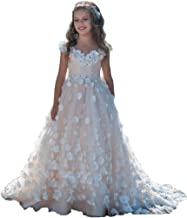 Magicdress First Communion Dresses 2018 Holy Baptism Applique Wedding Party Christmas Dresses White Girls 41