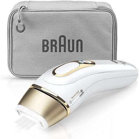 ブラウン 光美容器 シルクエキスパート ホワイト Pro5 PL-5014【Amazon.co.jp 限定・顔と全身のケアに使えるアタッチメント一個付き】