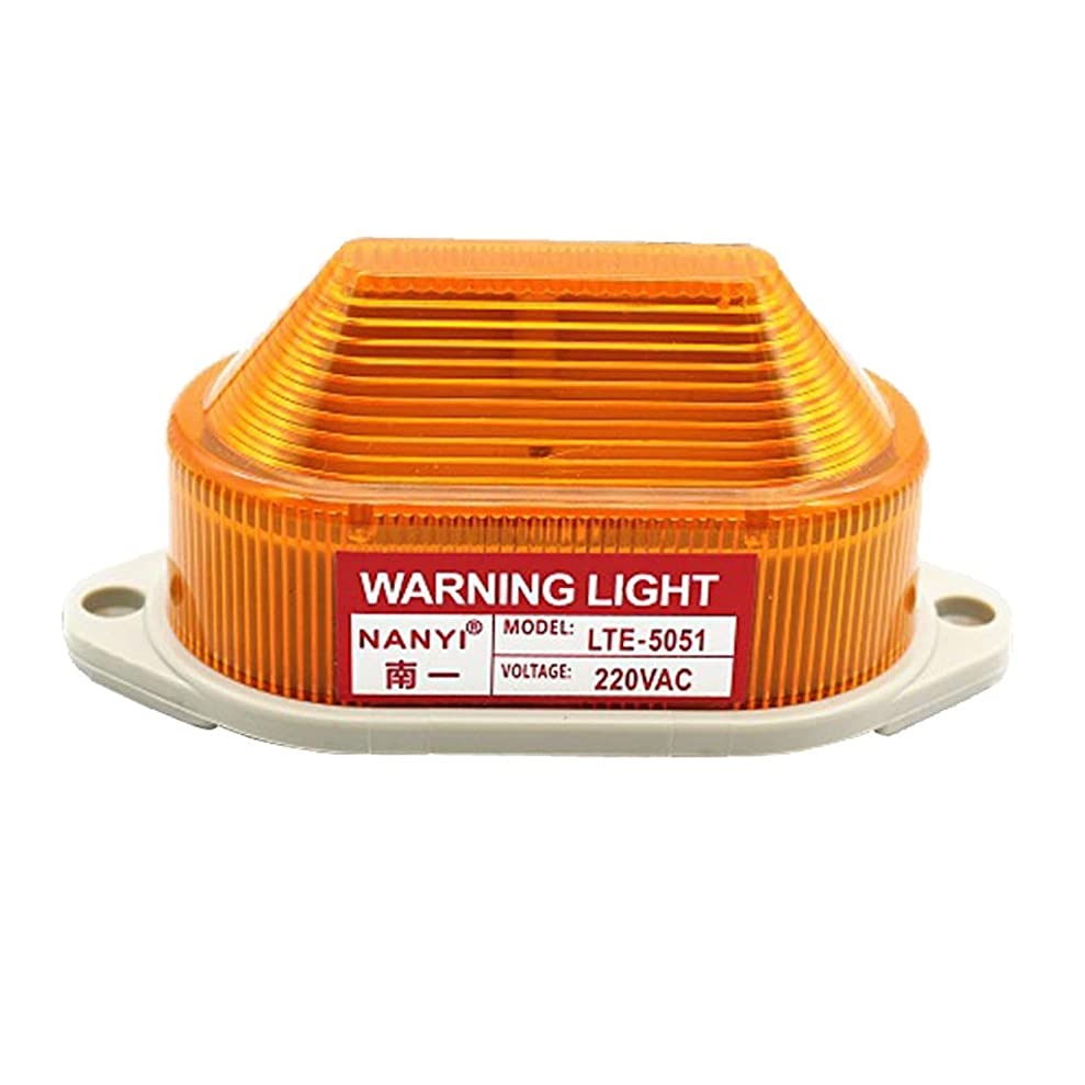 必須スポーツ鮮やかなB Blesiya LED フラッシュ 防水 ストロボ 汎用 警告灯 非常灯 イエロー発光 取り付け簡単 サイレント