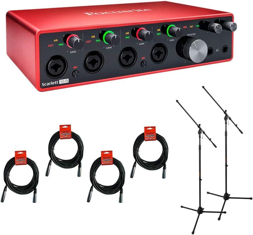Focusrite Scarlett 18i8 USB Audio online shop Interface Gen Ranking TOP10 2x Tr 3rd with