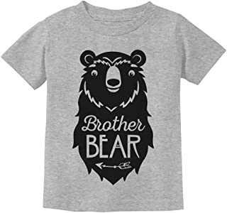 Big Brother Bear Cute Gift Sibling Boy Family Toddler Kids T-Shirt