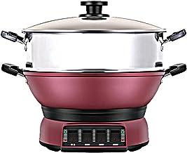 Cuisinière électrique commerciale, wok électrique multifonctions, cuisinière électrique ménagère, cuisson de cuisson pot t...