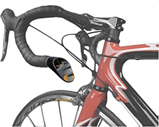 Sprintech Road Drop Bar Rearview Bike Mirror - Cycling Safety Mirror - Single For Left Side Dropbar (Black)