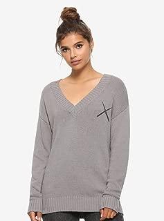 Supernatural Castiel Wings & Angel Blades Girls Sweater