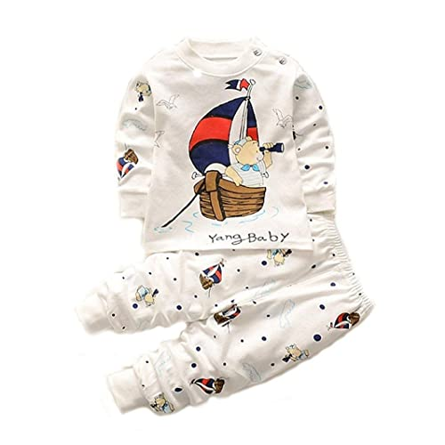 a47c7fc41620 Bold N Elegant Cool Printed Bear Scooby Dooby Panda Animal Cartoon Printed  Twin Set Little Boy