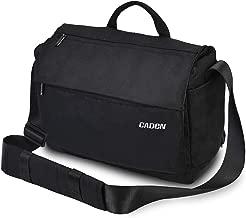 CADEN DSLR Camera Shoulder Messenger Bag with Tripod Holder and Detachable Camera Insert Bag, Camera Case Bag for Nikon Canon Sony Mirrorless Cameras etc