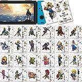 Casinteres 24 tarjetas NFC para The Legend of Zelda Breath of The Wild para Switch/Switch Lite/Wii U