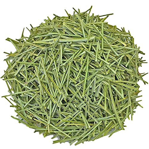 Dried Pine Needle Tea, 7.0oz(200g), 100% Wild Pine Needles Herbal Tea, Cut & Sifted