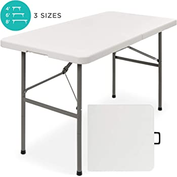 2FT Heavy Duty Small Folding Table Portable Camping Picnic Garden Party Laptop