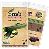Organic Zucchini Seeds,...image