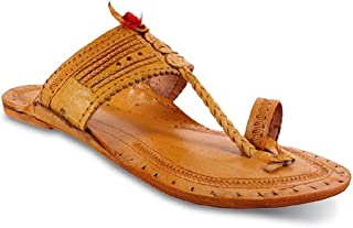 Sofiya Sports Mens Kolhapuri Leather Slippers