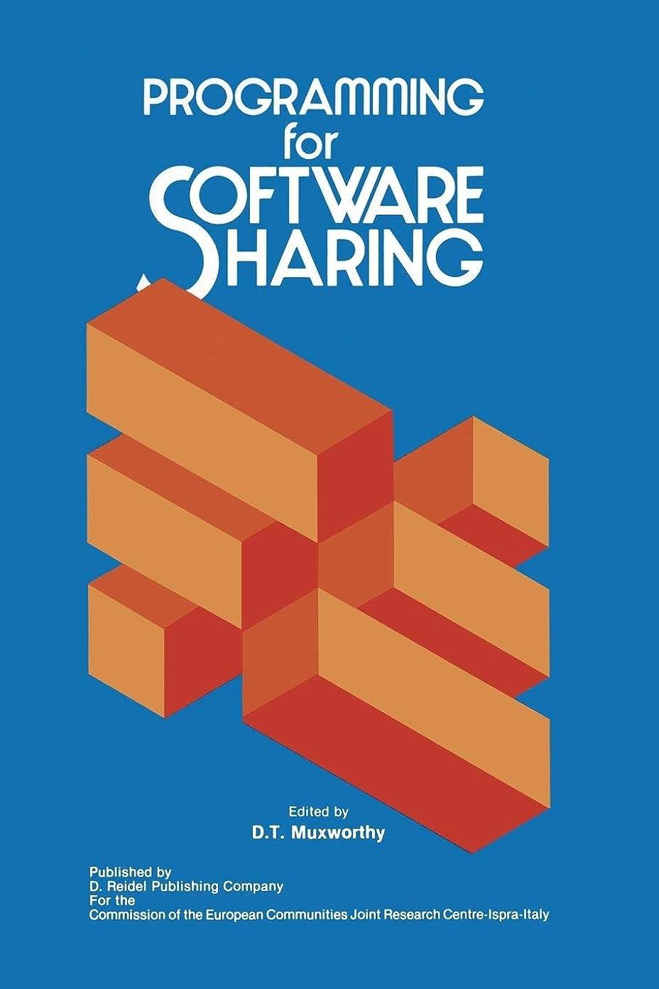 びっくりするパラシュート従順なProgramming for Software Sharing (Ispra Courses)