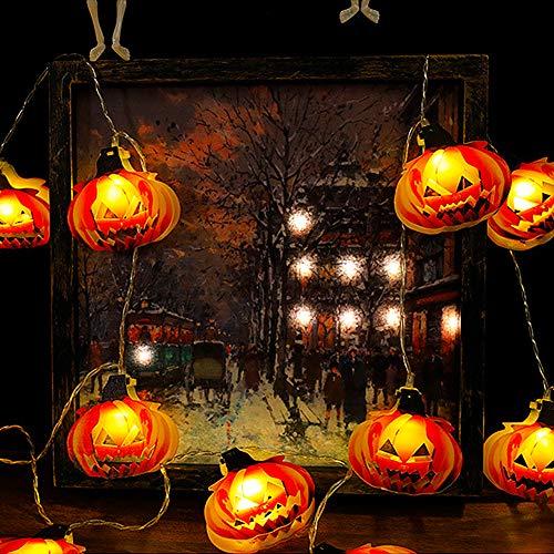 Decoración de Halloween BESTZY Decoracion Jardin Exterior (Calabaza 2 Metros)