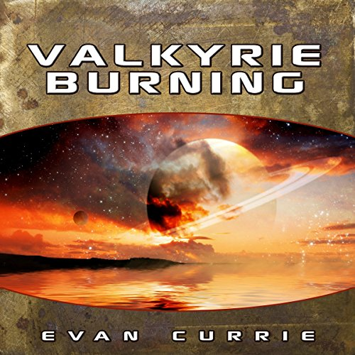 Valkyrie Burning audiobook cover art