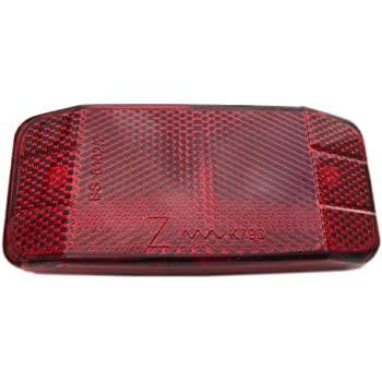 Fahrrad   Sicherheit Achtung Warnung Reflektor Disc Gepäckträger  .DE