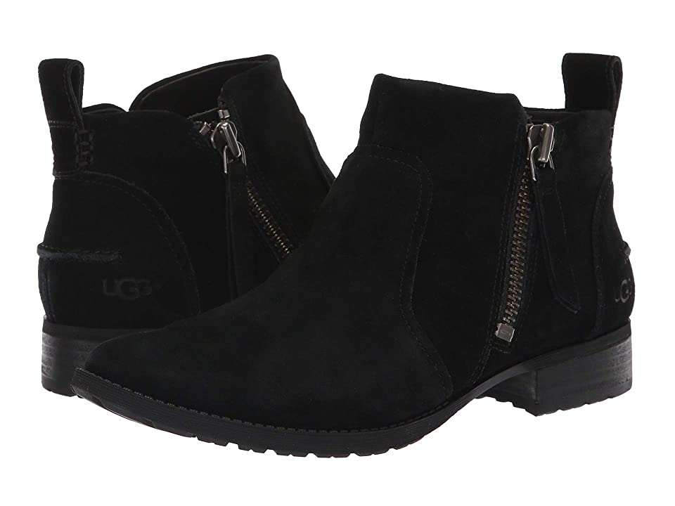 UGG Aureo Boot (Black Suede) Women