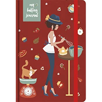 MatrikaS Baking Journal - A5 - A (MatrikaS Baking Journal Inspires The Baker in You, to be Creative in The Kitchen & Record Your Experiments with Recipes!)