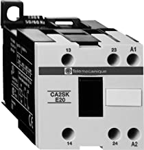 Midwest Control CA2SKE20-G7 Schneider Electric Alternating Relay, 102V - 120V Operating Range, 14 Degree F - 122 Degree F Temperature Range