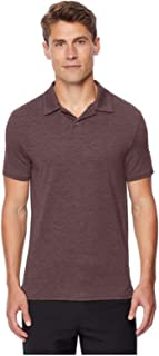 32 DEGREES Men's Techno Mesh Ultra Lux Textured Polo
