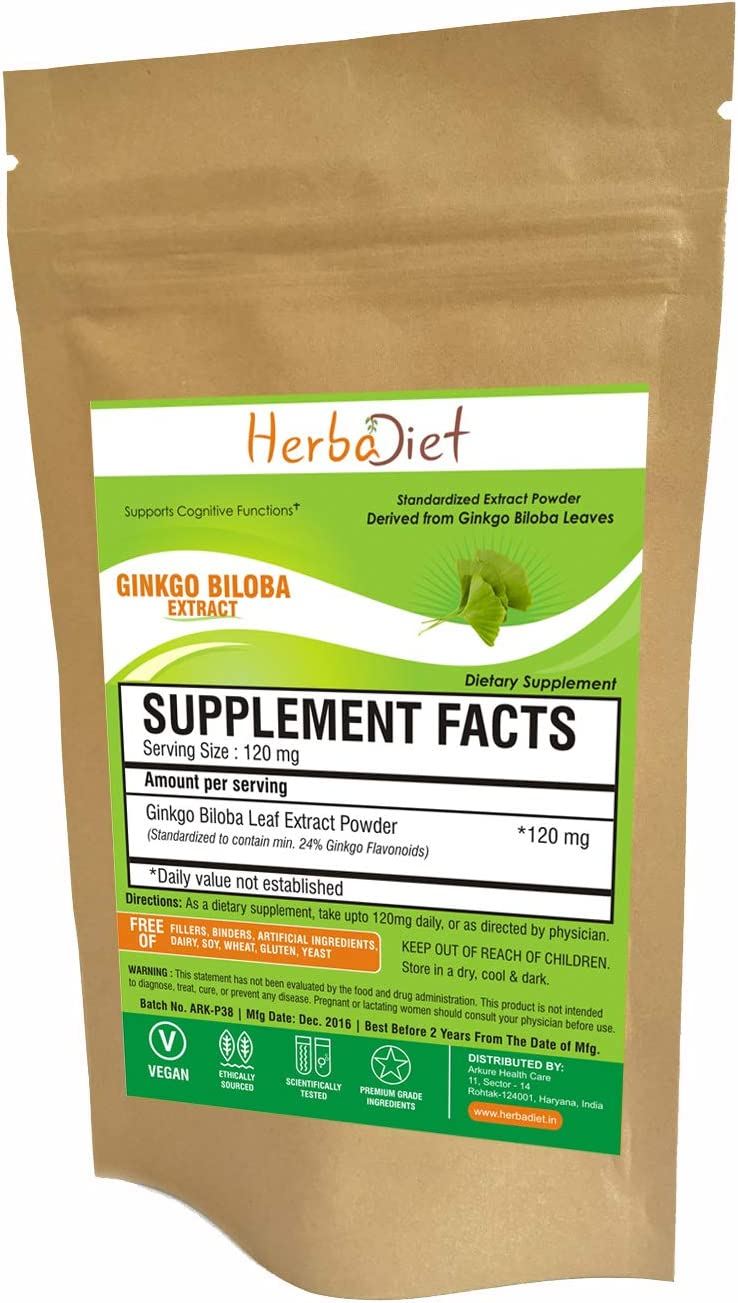 Ginkgo Biloba 120mg Max 53% OFF Some reservation Leaf Extract 24% Flavinoids Powder Terp 6%