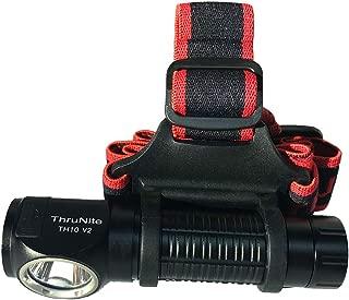 ThruNite TH10 V2スーパーブライト2100ルーメンIMR 3100mAhの充電式LEDヘッドランプ屋外および屋内用、18650電池使用 ハイキング キャンプ サイクリング CW