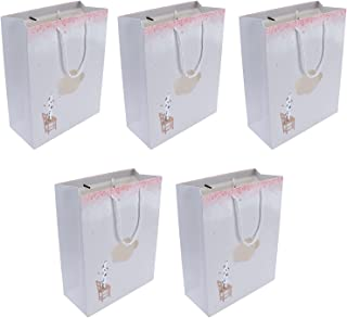 Shopping Bags, Gift Bag Portable Cartoon Patterns for Retail Shopping for Gift Packaging(Three Cats in The Clouds)