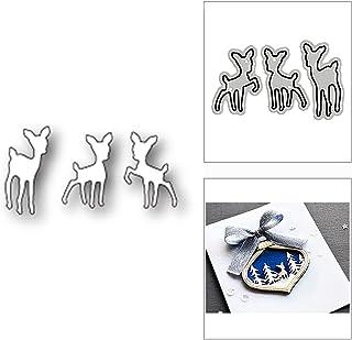 HLIAN Speel fawns herten Dier metalen snijden sterft voor diy scrapbooking kaart maken decoratieve embossing craft