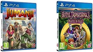 Jumanji Il Videogioco, Playstation 4 Hotel Transylvania 3: Mostri in Mare, PlayStation 4